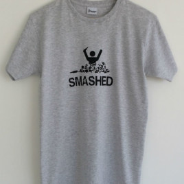 Smashed T-Shirt Grey