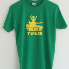 Tanked T-Shirt Green