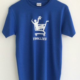 Trollied T-Shirt Blue