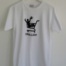 Trollied T-Shirt White